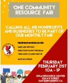 One Community Resource Fair